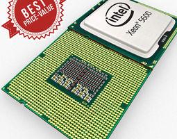 3D model Intel Xeon 5600