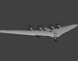 3D asset Northrop XB 35