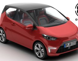 3D model Generic City Car logo