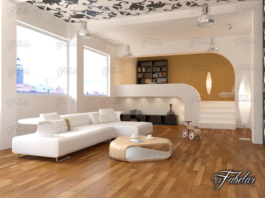 3d model free download interior