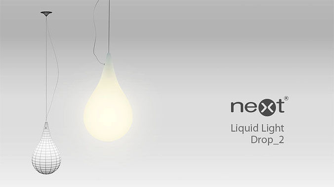 3d next liquid light drop 2 cgtrader next liquid light drop 2 3d model mozeypictures Images