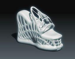 3d print model alien shoes