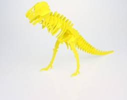 3D print model Dino Puzzle