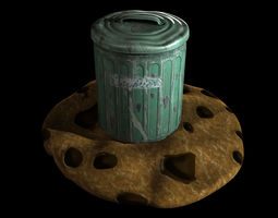 biscuit tin realtime 3d model