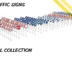 3D Traffic signs EU