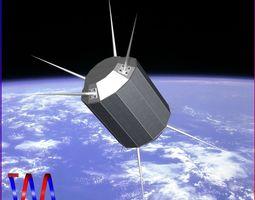 US UHF Satellite 3D