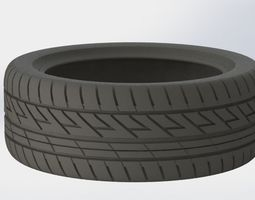 real size tire 3d print model