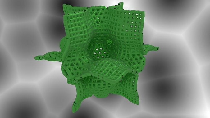 holes math art 3d model stl 1
