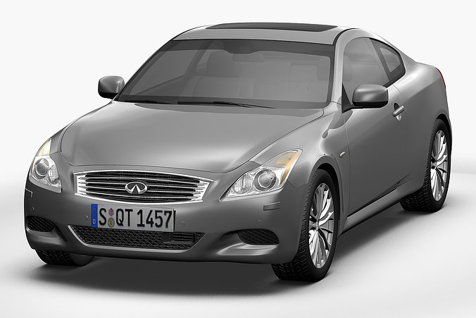 3d 2012 Infiniti G37 Coupe Cgtrader