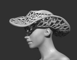Cowboy Hat 3D print model