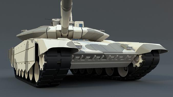 t90 ms 3d model obj mtl fbx blend dae 1