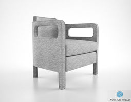 Avenue Road Jinbao armchair 3D