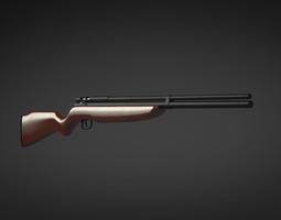 Hunting Rifle -Blender Model-