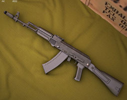 3D model AK-74M