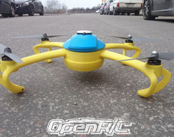 3D print model OpenRC Quadcopter