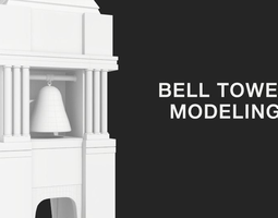 realtime 3d model bell tower