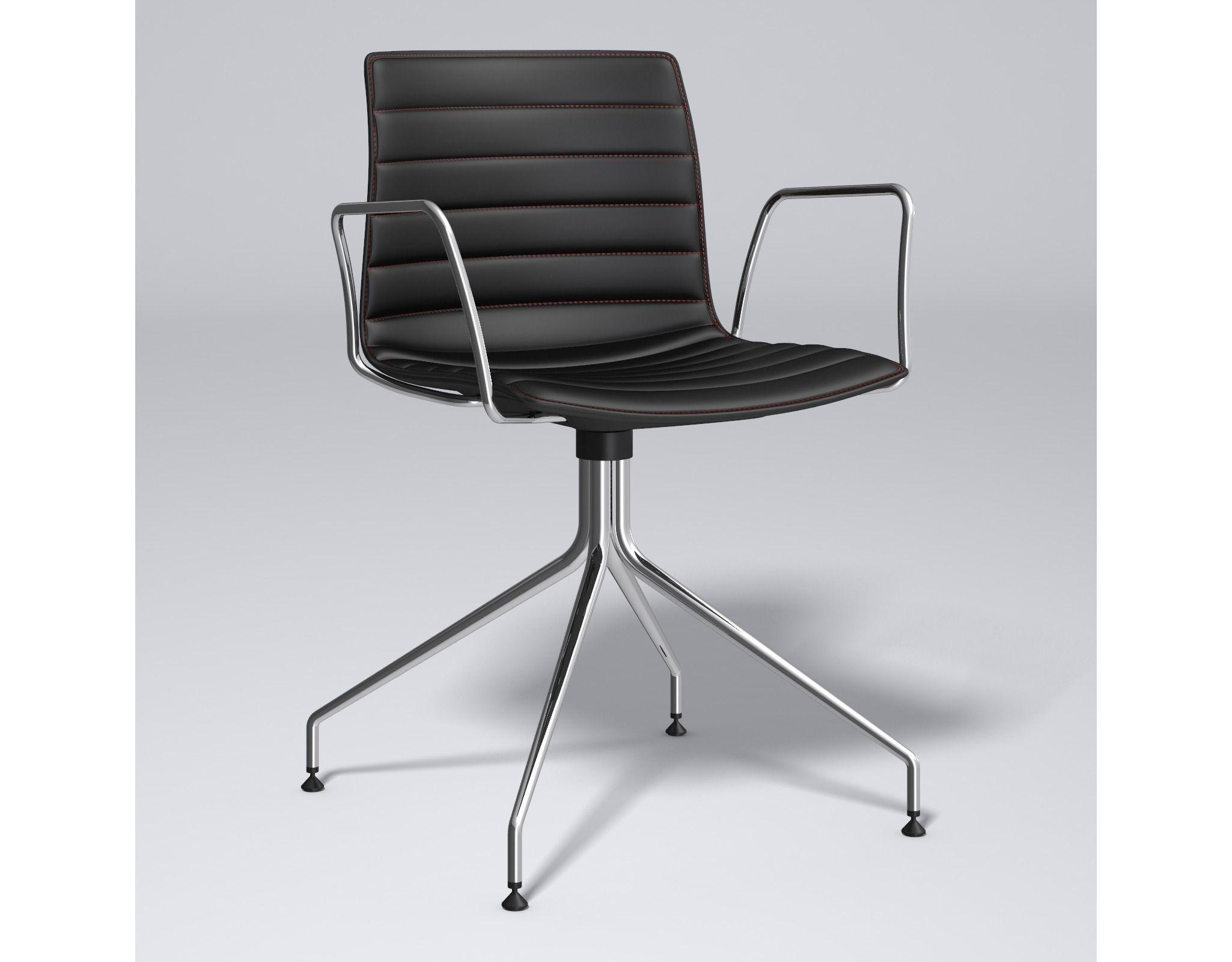 Catifa 46 Trestle swivel Chair Arper 3D model MAX OBJ FBX