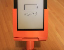 A Kindle support 3D print model