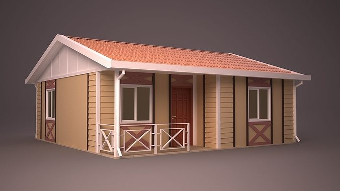 Home 23 3d Model Max Obj 3ds Fbx Ma Mb Dwg