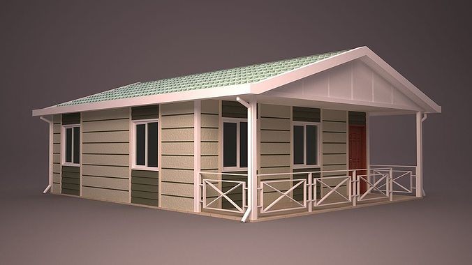 Home 3d home cgtrader for Home 3d model