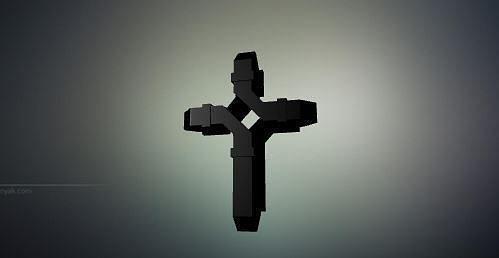 mobeius cross 3d model stl 1