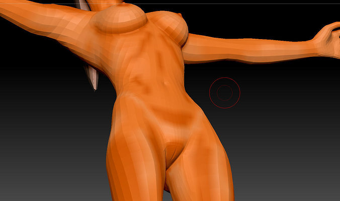 womenforgame 3d model obj mtl 1
