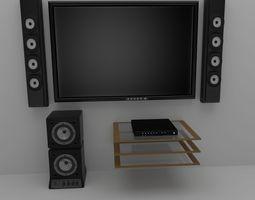 Entertainment System 3D Model
