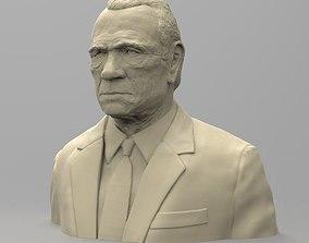 Bust of Tommy Lee Jones miniatures 3D print model