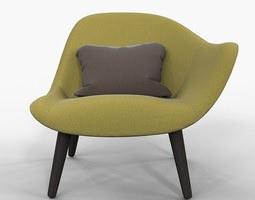 poliform mad chair marcel wanders 2013 3d model max