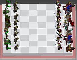 Goblin vs Knight 3D
