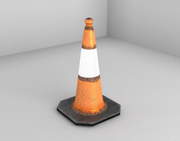 3D model City Traffic Cone