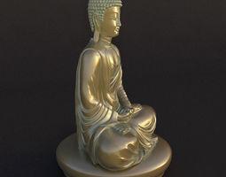 3D interior Buddha