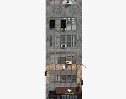 3D New York building facade