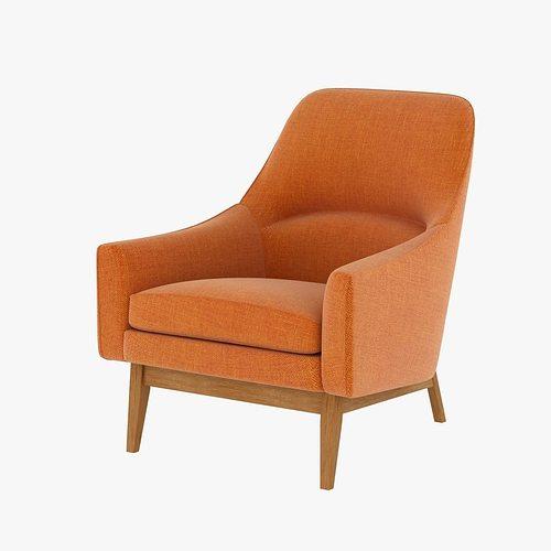 Ralph Pucci Jens Risom Chair 3d Model Max Obj 3ds Fbx Mtl
