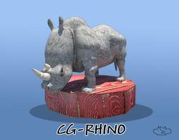 3d cg rhino