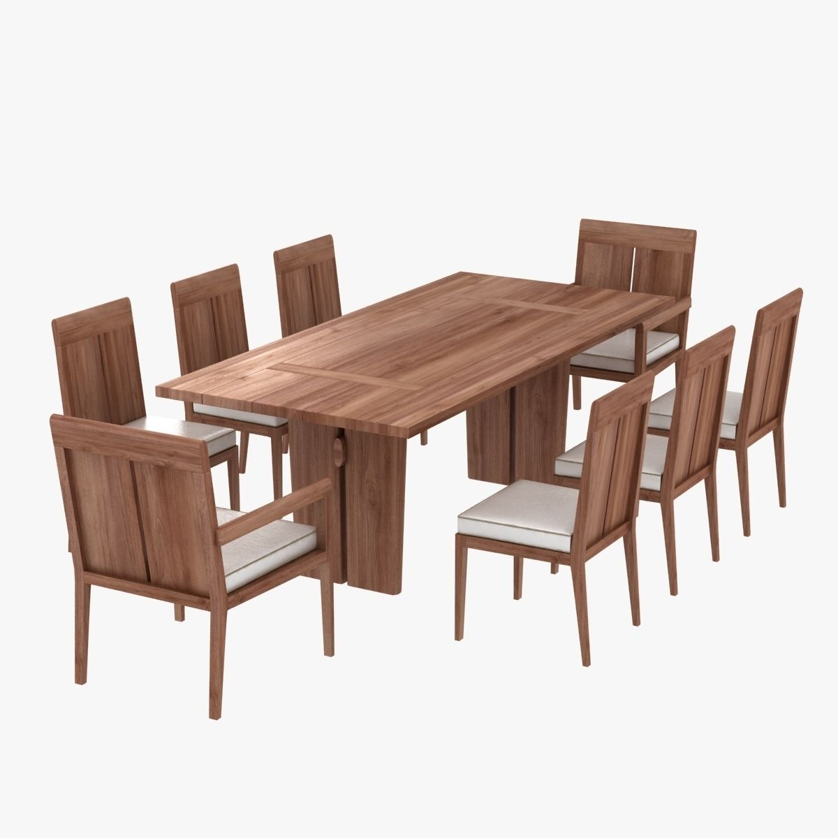 a85dfde98f link outdoor sand dollar table and chairs 3D model MAX BIP OBJ MTL ...