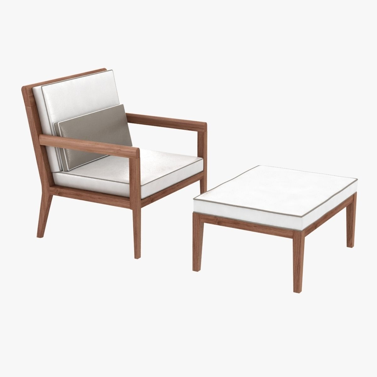 link outdoor sand dollar lounge chair and ottoman