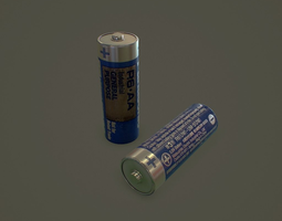 VR / AR ready aa battery 3d model