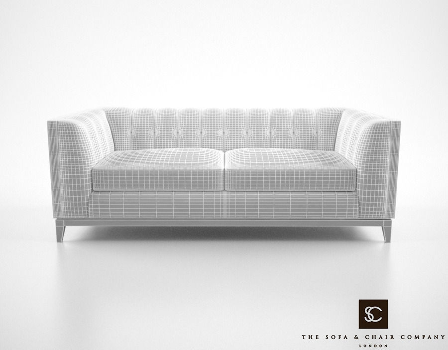 ... The Sofa And Chair Company Alexander Sofa 3d Model Max Obj Fbx Mtl 5
