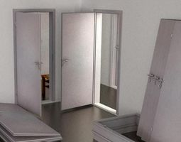 3D model Openable Door - Animated for Blender