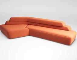 3D model Moroso Rift sofa set