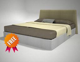 3D Bed LOV Desiree FBDE01