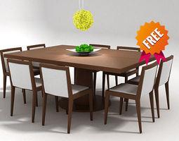 3d dining set fdv300