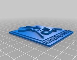 Porta chaves ADA 3D print model