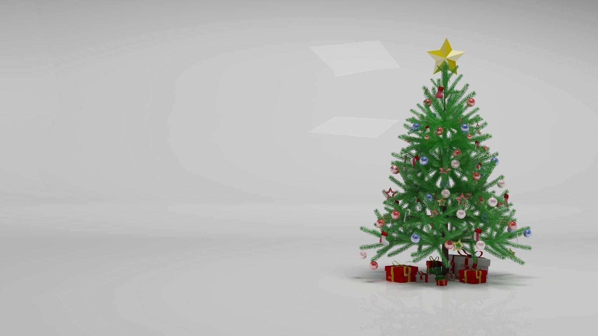 Christmas Tree 3D tree   CGTrader