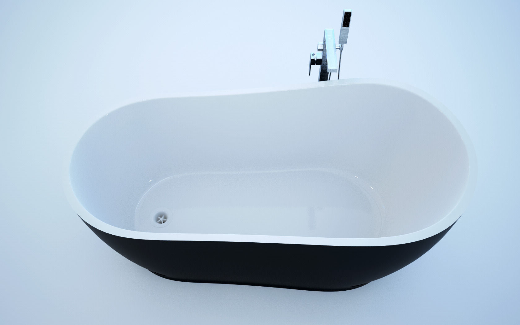 Freestanding Bath 3D   CGTrader