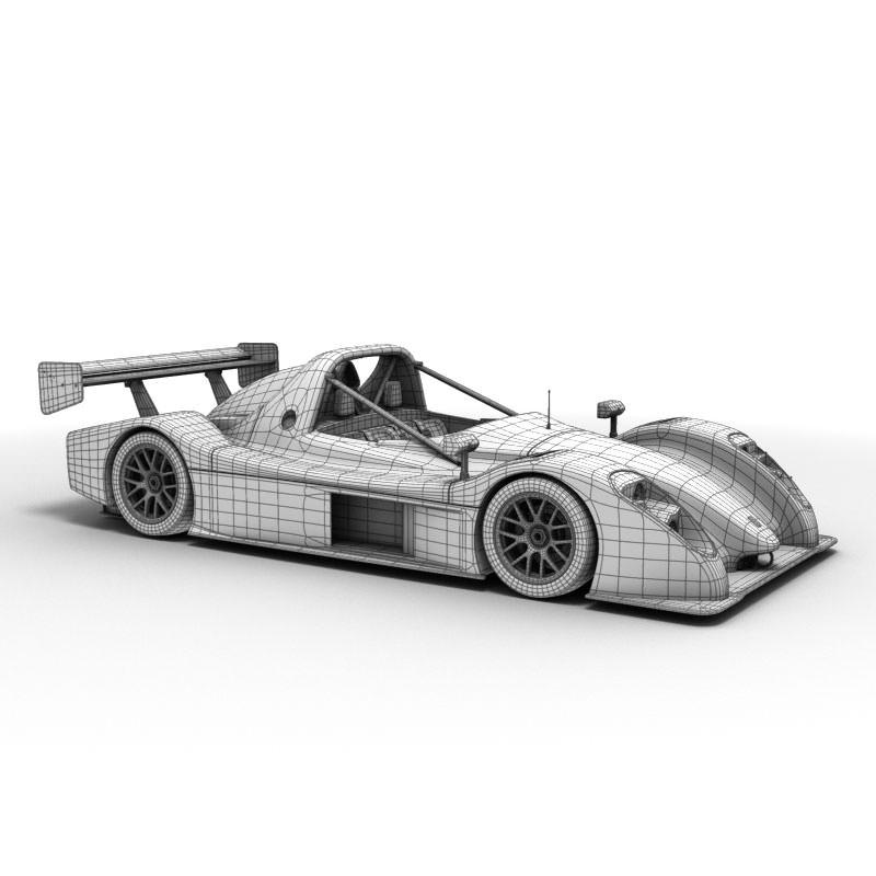 Radical SR3 RS 3D | CGTrader