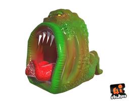 Muncher - Alien Worm 3D asset