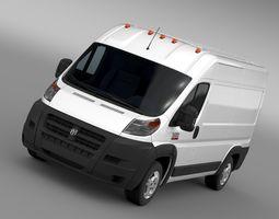 3d ram promaster cargo 2500 hr 136wb 2015