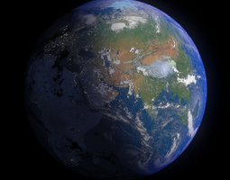 3d model earth 16k